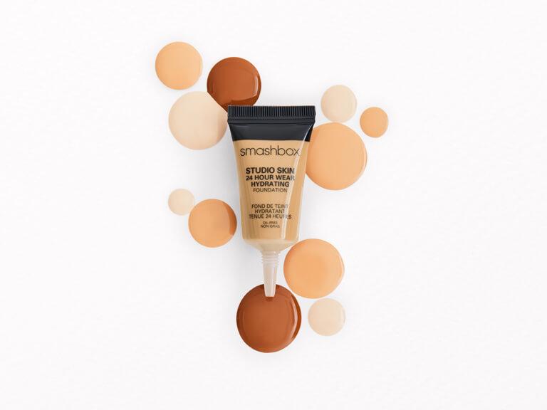 SMASHBOX COSMETICS Studio Skin 15 Hour Wear Hydrating Foundation in 1.05 Neutral 2