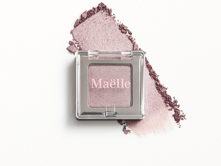 MAËLLE BEAUTY Enchanted Eyeshadow Collection Single in Quartz