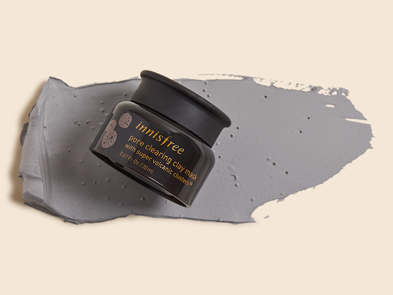 innisfree Pore Clearing Clay Mask with Super Volcanic Clusters
