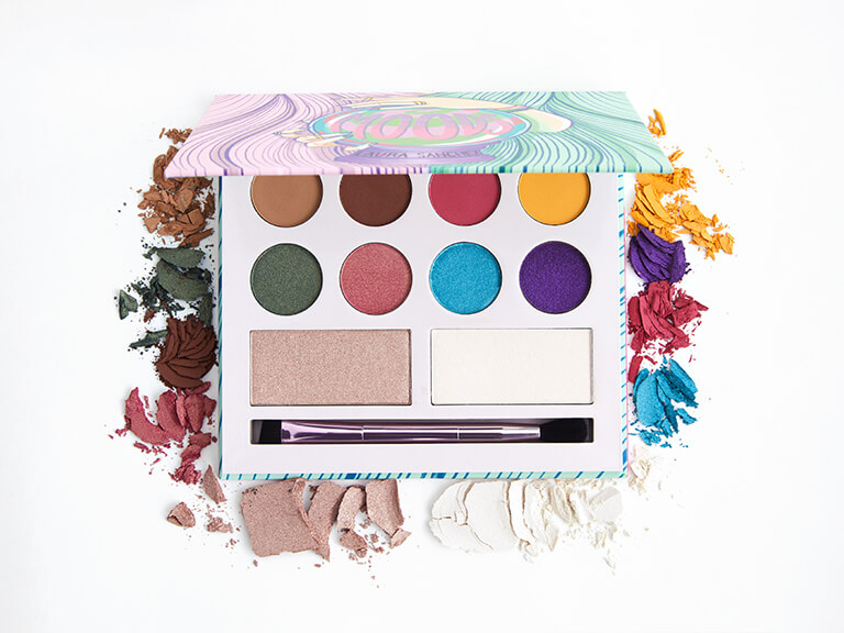 LAURA MAKEUP LABS Moods Eyeshadow and Highlighter Palette