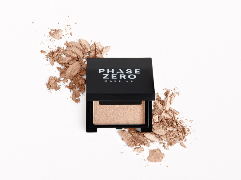 PHASE ZERO MAKE UP Shimmer Eyeshadow in Nude Newbie