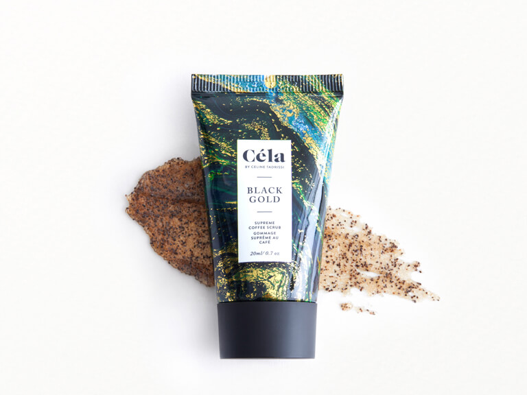 CÉLA Black Gold Supreme Coffee Scrub