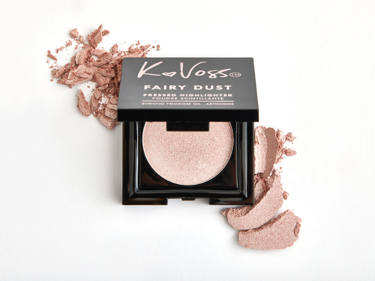 KVOSSNYC Fairy Dust Pressed Highlighter in Moonlight