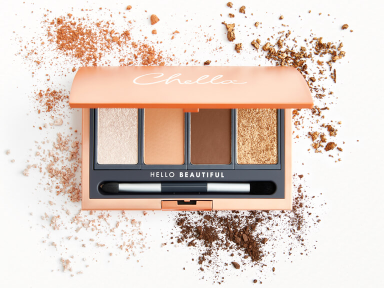 CHELLA La Vie Eyeshadow Palette Deluxe in Femme, Instincts, Dynamic, and Vitality