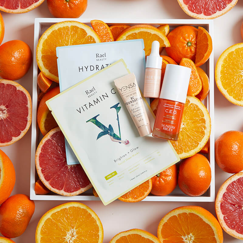 March 2020 Vitamin C Benefits for Skin Story Square
