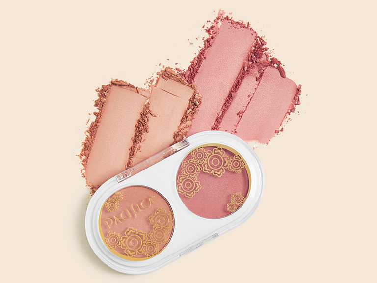 Coconut Blush Duo in Beaming and Tenderheart