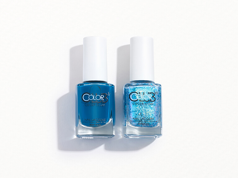 COLOR CLUB Color Club Polish Duo Teal for Two & You Snooze You Lose!