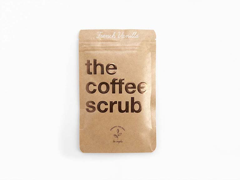 THE COFFEE SCRUB French Vanilla Coffee Scrub