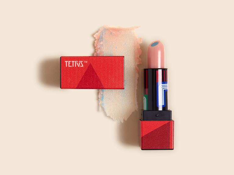TETRIS x ipsy Lip Balm in N00b