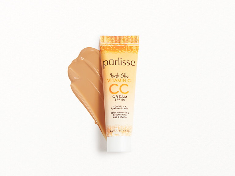 PURLISSE BEAUTY Youth Glow Vitamin C CC Cream SPF50 in Medium