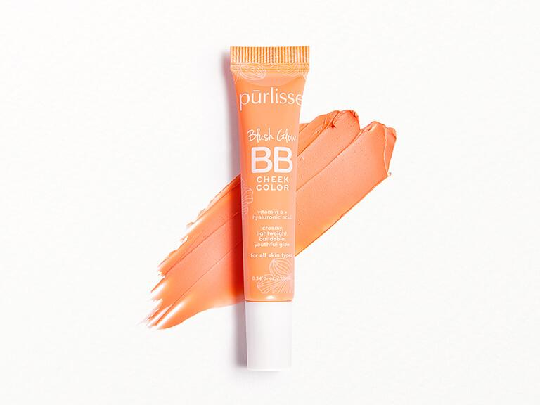 PURLISSE BEAUTY Blush Glow BB Cheek Color in Malibu Peach
