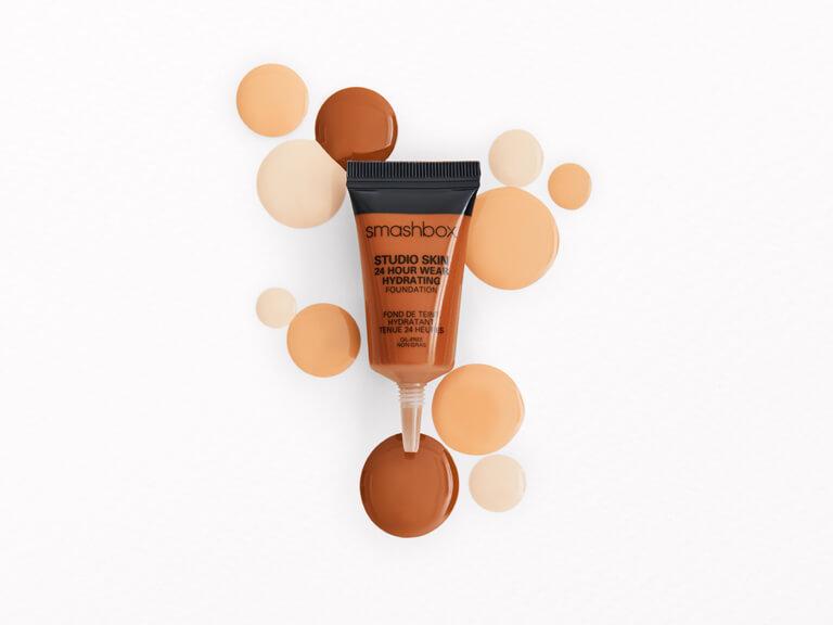 SMASHBOX COSMETICS Studio Skin 15 Hour Wear Hydrating Foundation in 4.05 Golden 2