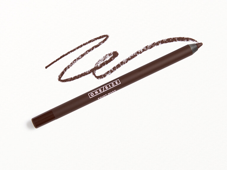 ONE-SIZE Point Made 24-Hour Gel Eyeliner Pencil in Busty Brown