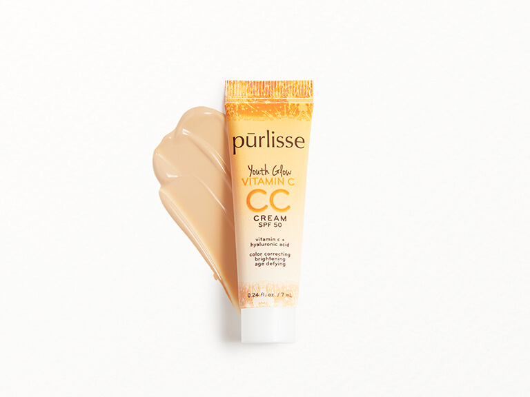 PURLISSE BEAUTY Youth Glow Vitamin C CC Cream SPF50 in Fair