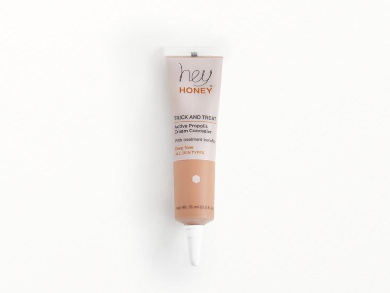 Hey Honey Trick and Treat Active Propolis Cream Concealer in Deep