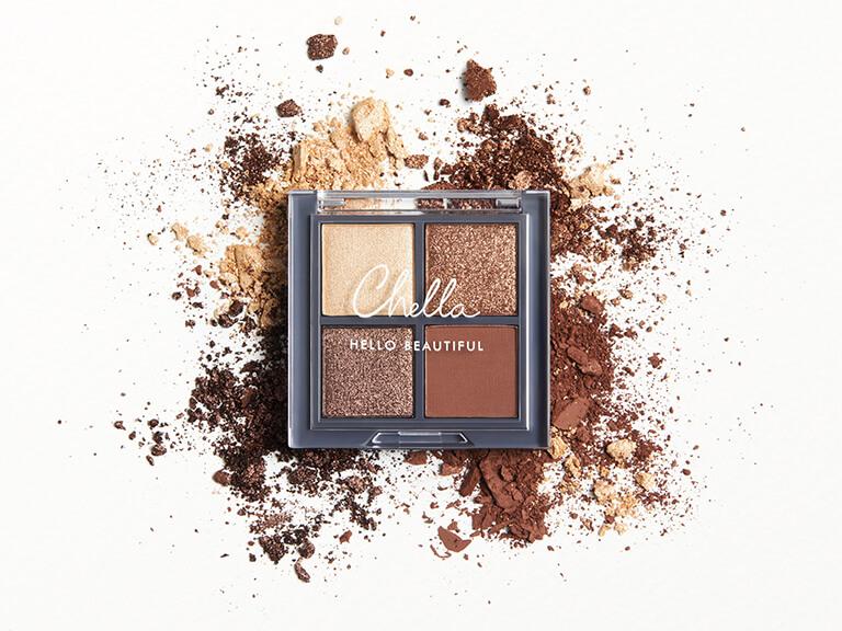 CHELLA Manifest Bronze Eyeshadow Palette - Travel Size