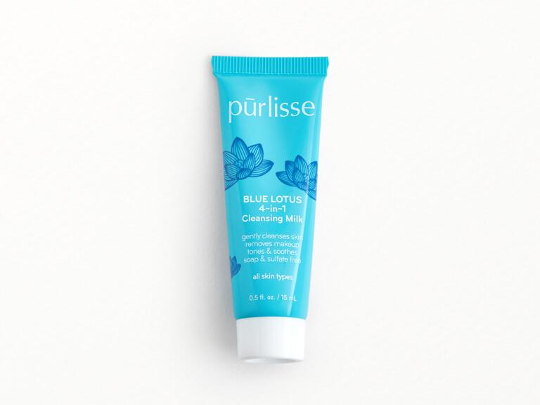 PURLISSE Blue Lotus 4~in~1 Cleansing Milk
