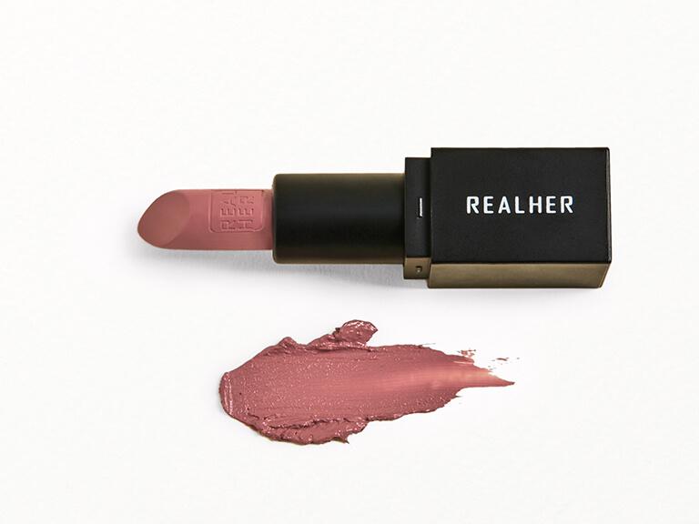 REALHER Moisturizing Lipstick in Girl Power