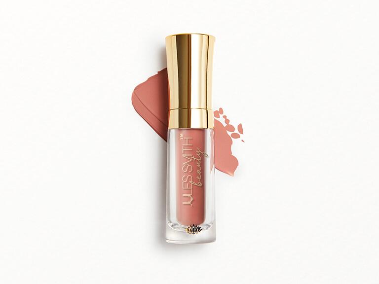 JULES SMITH BEAUTY Power Satin Matte Liquid Lipstick in Namaste All Day