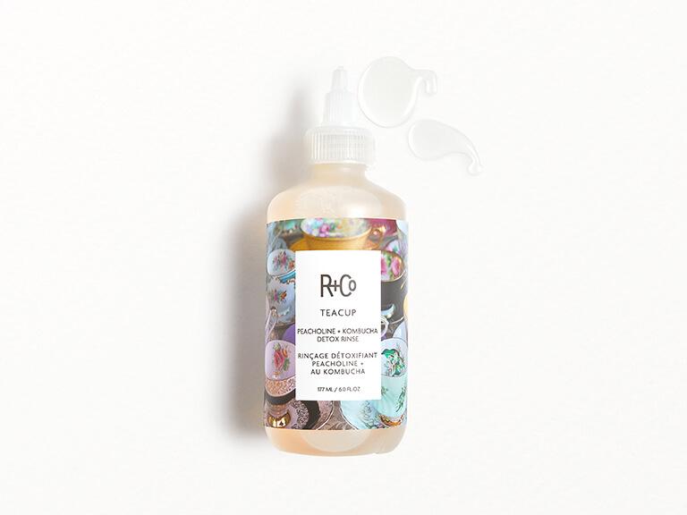 R+CO Teacup Peacholine + Kombucha Detox Rinse