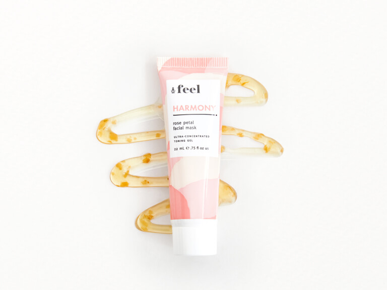 FEEL Harmony Rose Petal Facial Mask