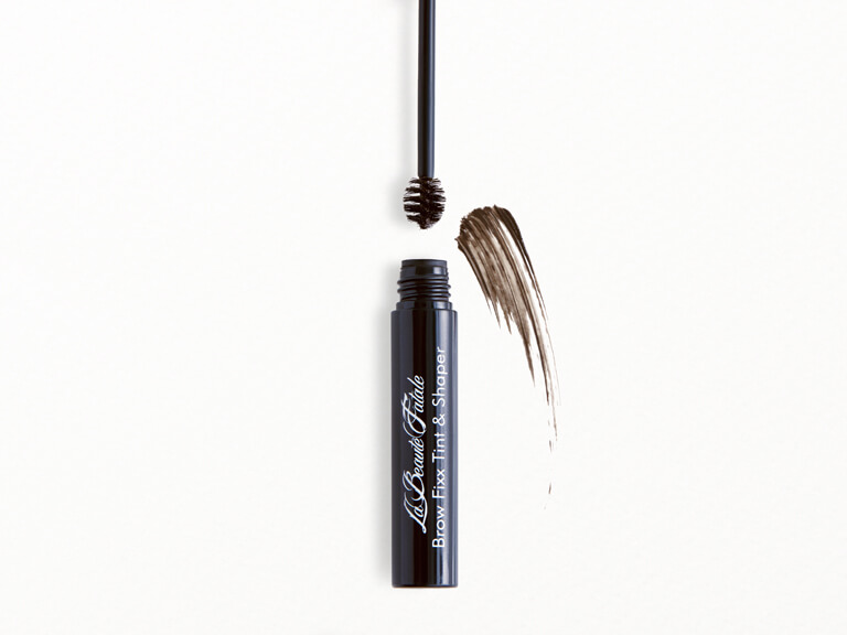 LA BEAUTE FATALE COSMETICS Brow Fixx Tint & Shaper in Dark Brunette