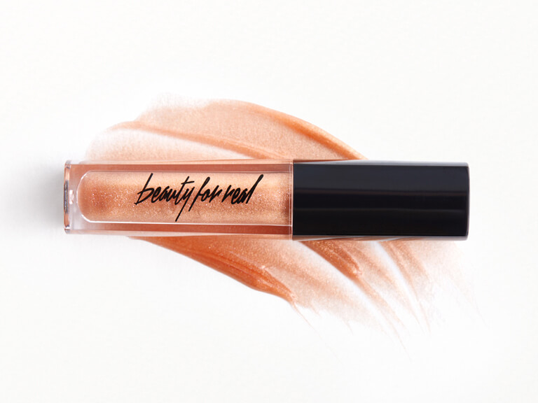 BEAUTY FOR REAL Lip Gloss  + Shine in Sunlight
