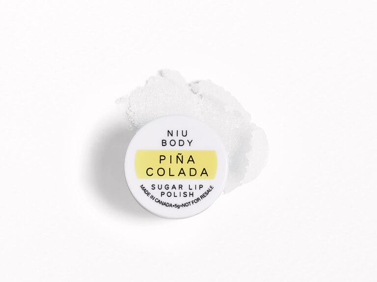 NIU BODY Piña Colada Sugar Lip Polish