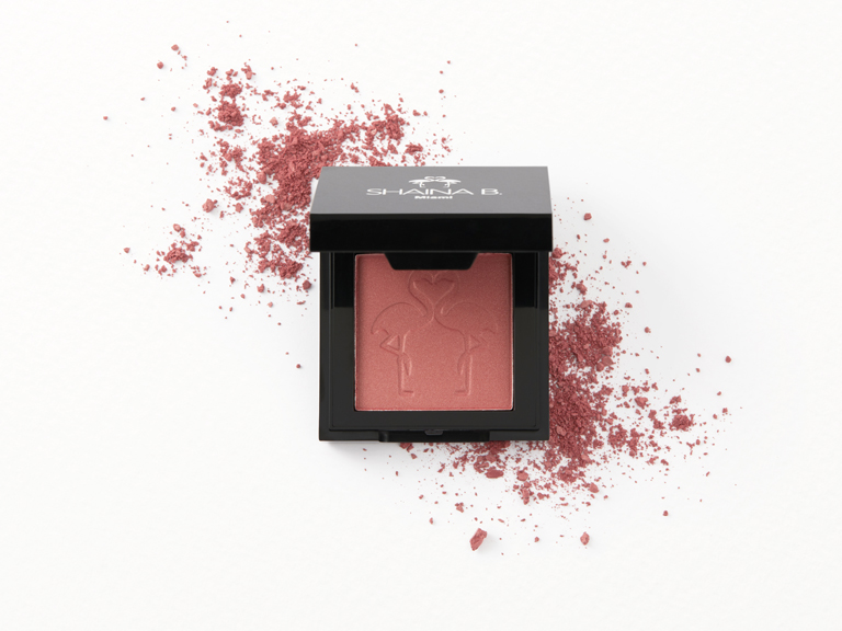 Shaina B Blush in Brickell with swatch