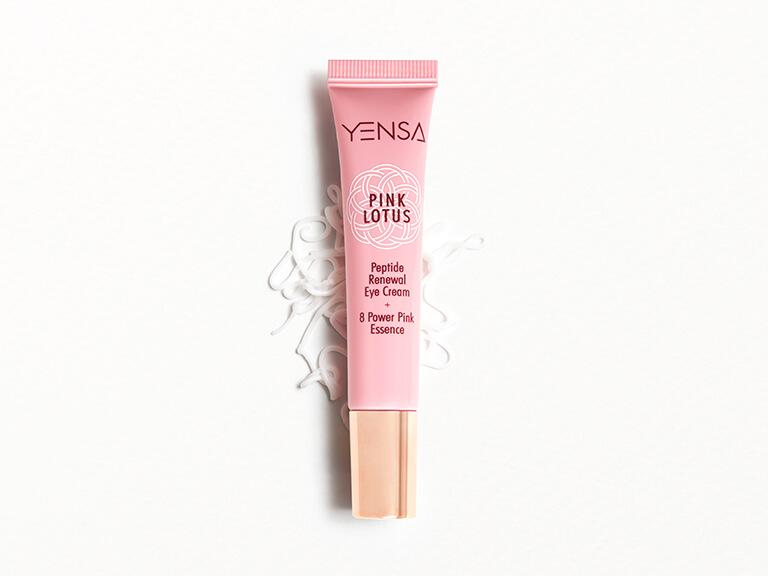 YENSA PINK LOTUS Peptide Renewal Eye Cream