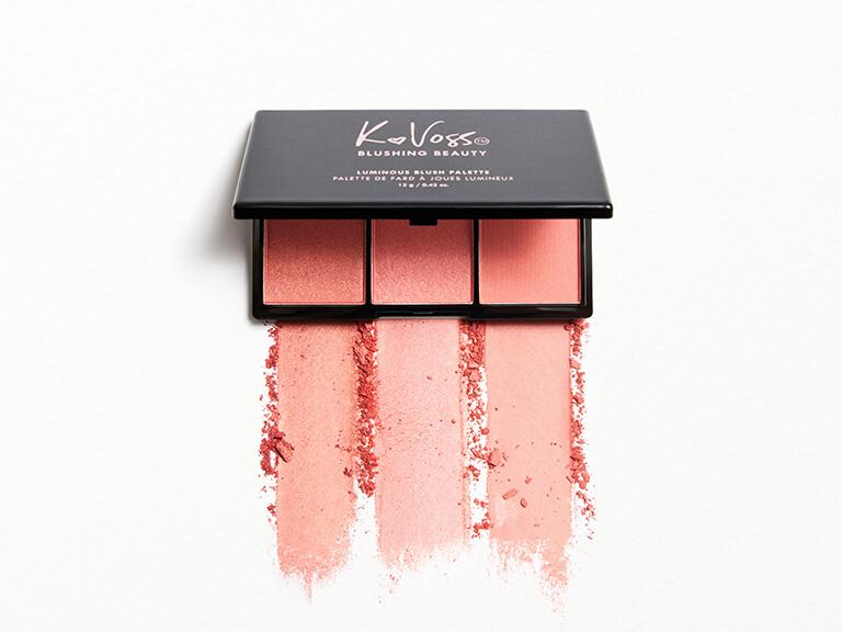KVOSSNYC Blushing Beauty Luminous Blush Palette