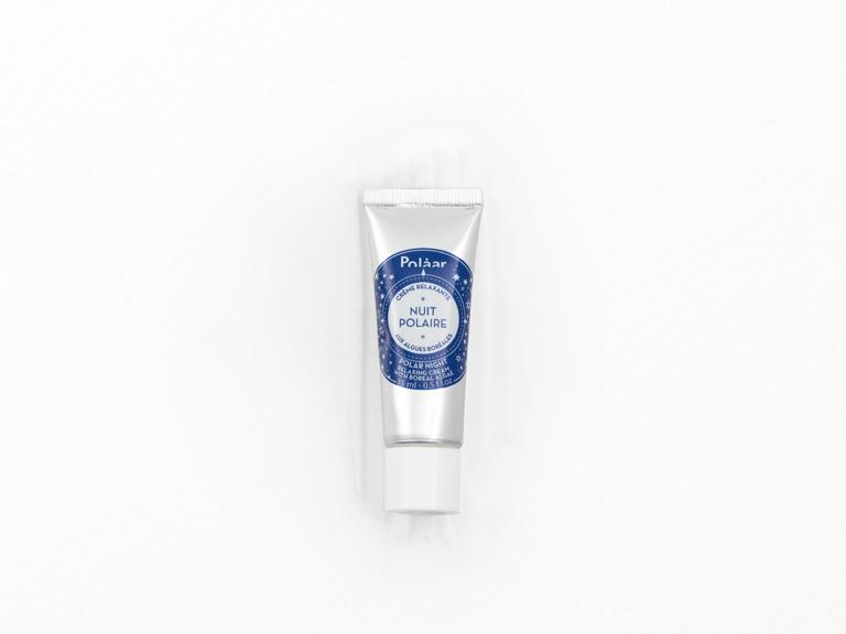 Polaar Night Cream with swatch