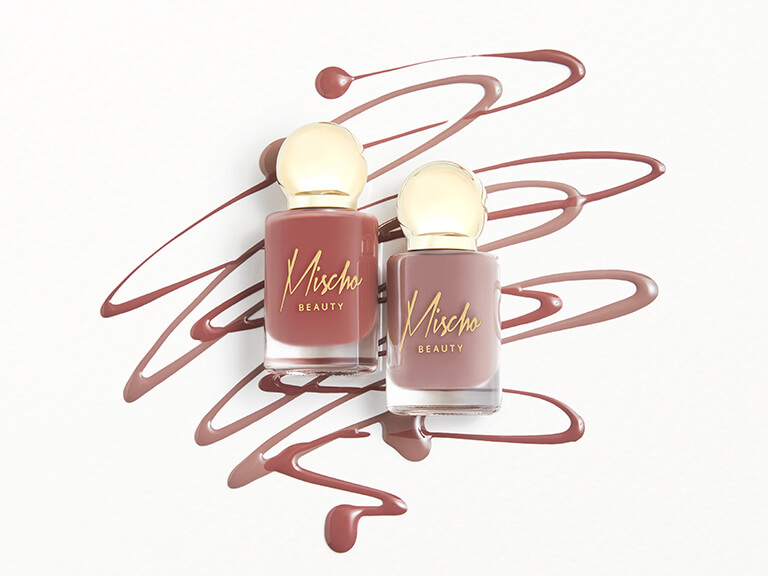 MISCHO BEAUTY Nail Lacquer Duo in Manicured & Angel
