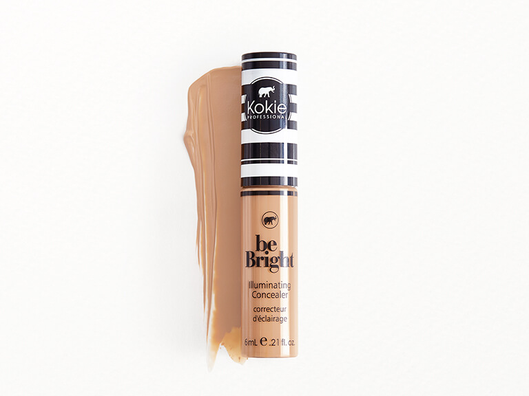 KOKIE COSMETICS Be Bright Illuminating Concealer in Medium Beige