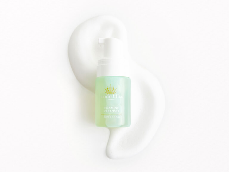 CANNABLISS ORGANIC Gentle Foaming Cleanser
