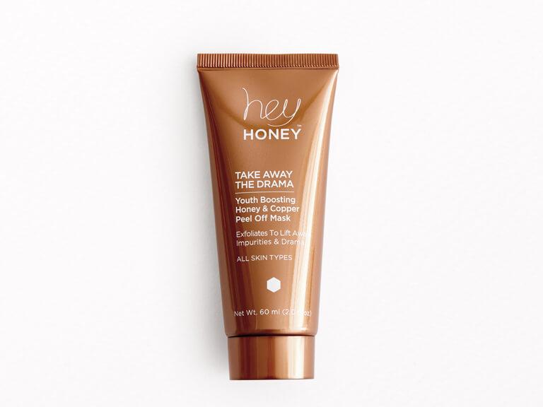 HEY HONEY Take Away the Drama Youth Boosting Honey & Copper Peel Off Mask