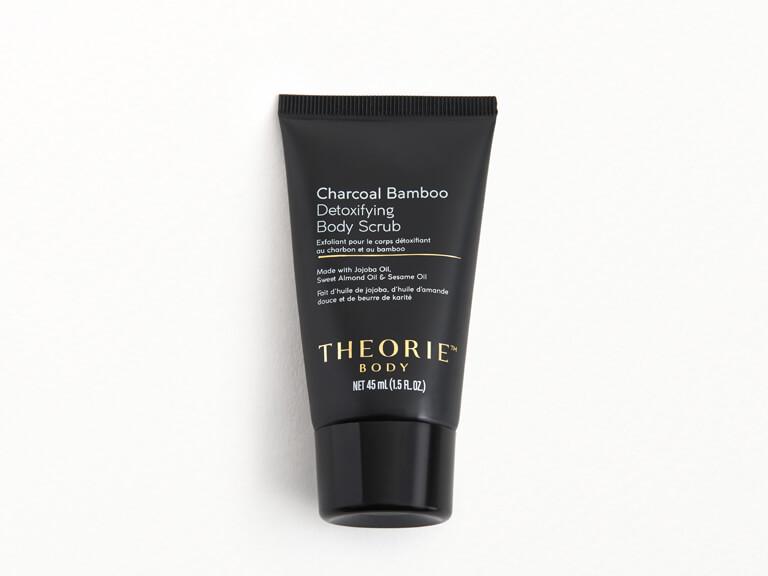 THEORIE Charcoal Bamboo Detoxifying Body Scrub