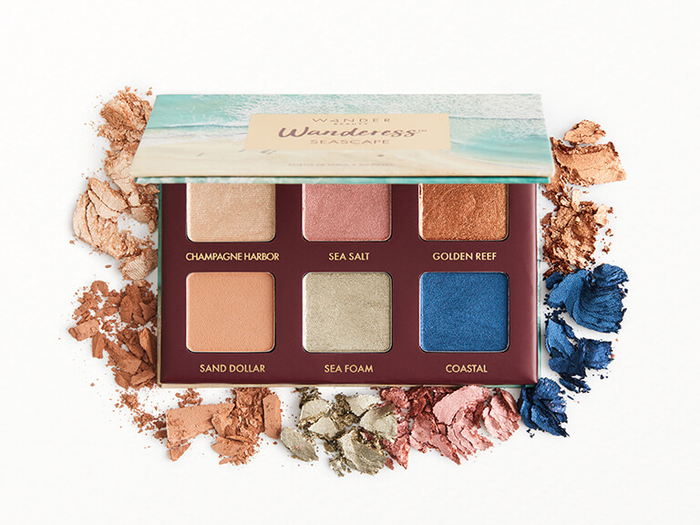 WANDER BEAUTY Wanderess™ Seascape Eyeshadow Palette
