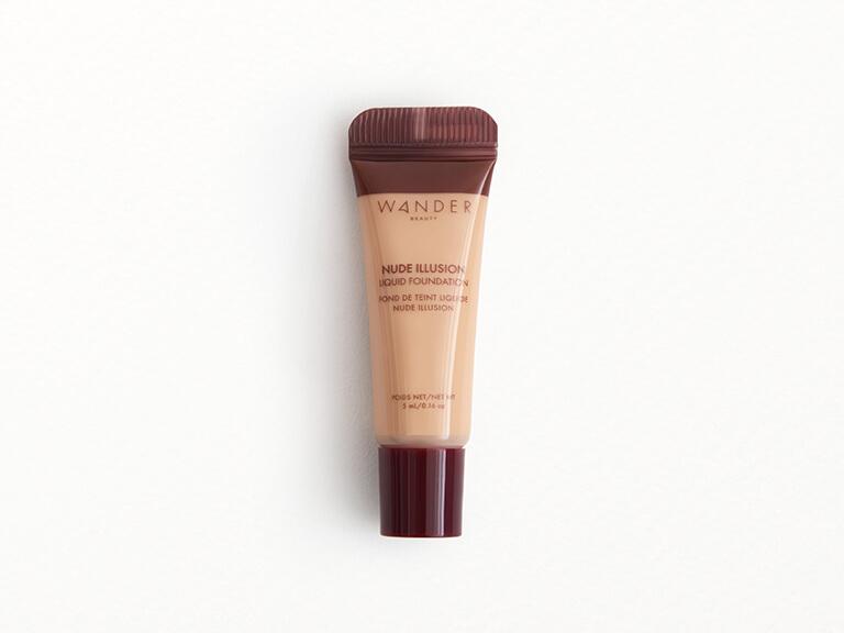 WANDER BEAUTY Nude Illusion Liquid Foundation in Fair Light