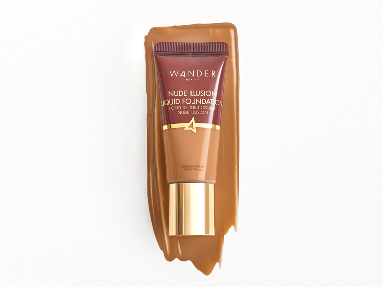 WANDER BEAUTY Nude Illusion Liquid Foundation in Tan