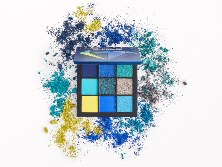 HUDA BEAUTY Obsessions Eyeshadow Palette in Sapphire