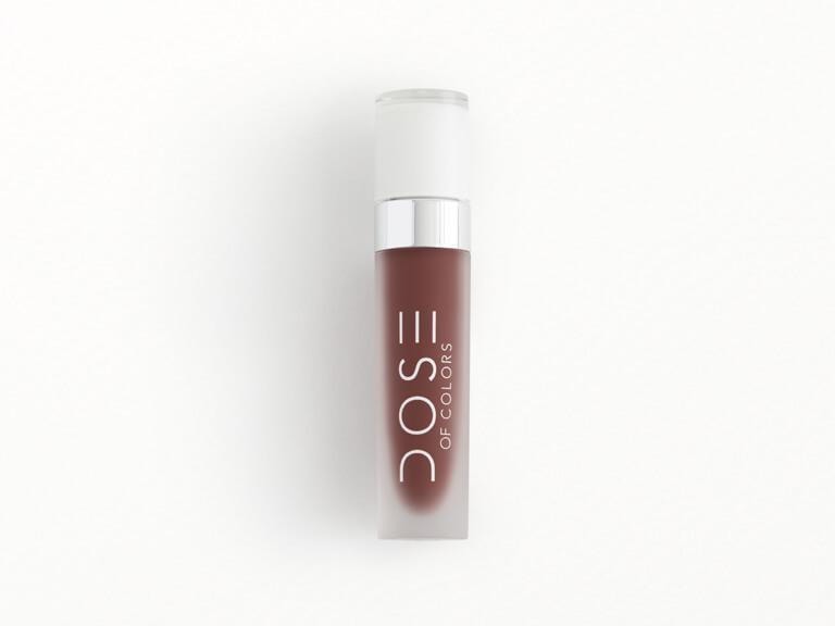 DOSE OF COLORS Liquid Matte Lipstick in Brick