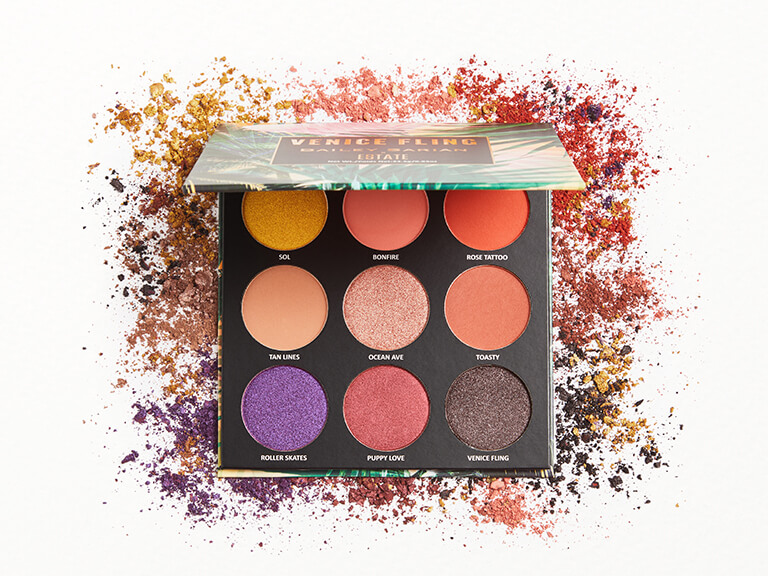 ESTATE COSMETICS ESTATE COSMETICS X Bailey Sarian Venice Fling Eyeshadow Palette